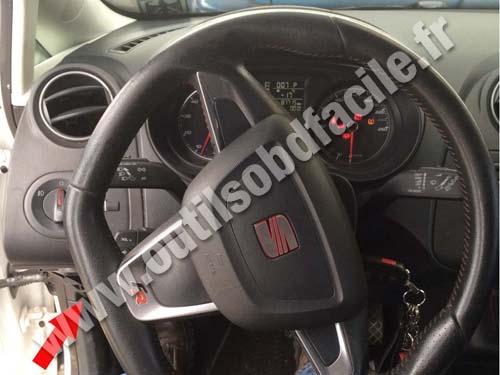 Seat Ibiza 4 Dashboard