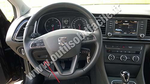 Seat Leon dashboard