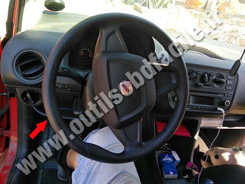 Seat Mii - Dashboard