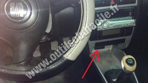 Seat Toledo Dashboard Steering Wheel