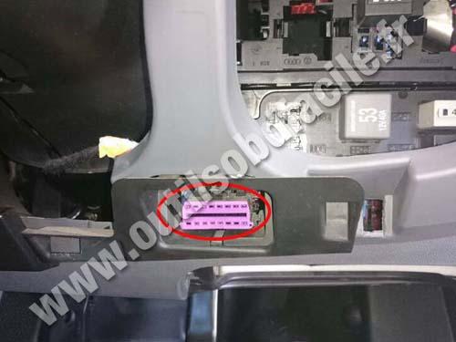 Seat Toledo OBD plug