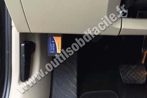 Skoda Octavia 3 OBD2 port