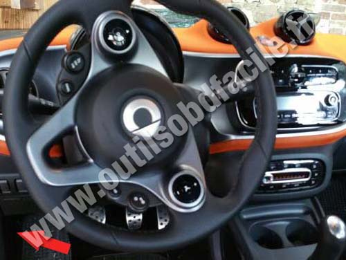 Smart Fortwo 3 - Dashboard