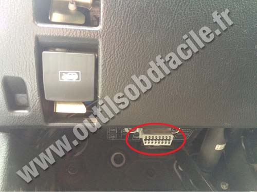 toyota obd port location obd 2 location 1996 ford f