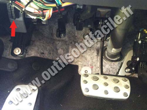 Subaru Levorg - Pedals