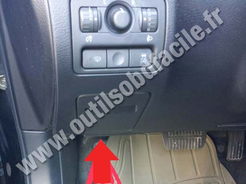 Obd2 Connector Location In Subaru Outback 2003 2009