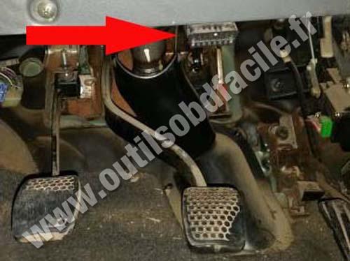 Suzuki Baleno Brake pedal