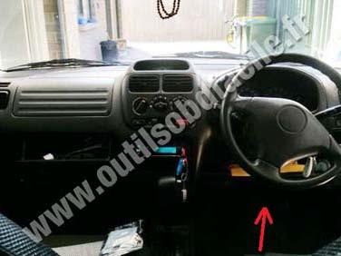 Suzuki Sx Dashboard also Suzuki Baleno Brake Pedal as well Suzuki Swift A Obd Socket further Suzuki Ignis Dashboard Steering Wheel together with Photo. on 2006 suzuki grand vitara obd port