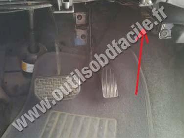 Suzuki Ignis pedals