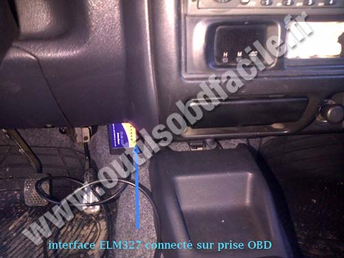 OBD2 connector location in Suzuki Jimny (1998 - 2018 ... on