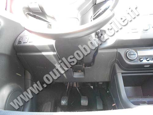 Suzuki Swift pedals