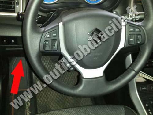 Obd2 Connector Location In Suzuki Sx4 2013
