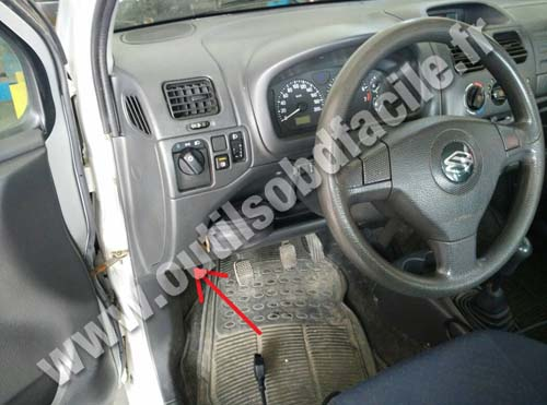 Suzuki Wagon R+ dashboard