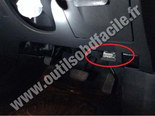 Toyota Allion Brake Pedal Obd