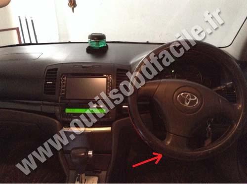 Toyota Allion Dashboard Steering Wheel on 1994 Toyota Tercel