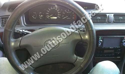 Toyota Camry dahsboard