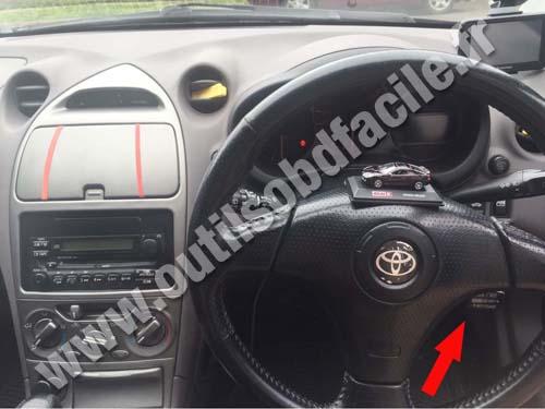 Toyota Celica Dashboard