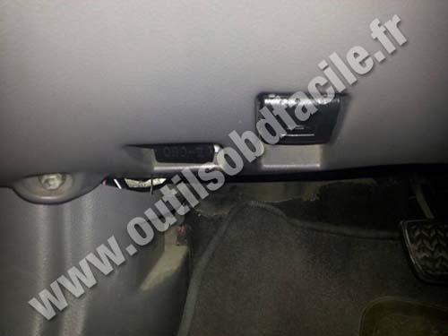 Hood Lever Opener Port Obd Toyota Celica