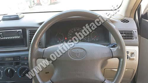 Toyota Corolla 9 dashbaord