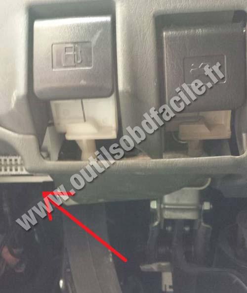 Isuzu D Max also 1191347 32496655998 as well Volvo V70 1 additionally Suzuki Jimny likewise Premium Billet Obd Port Cover. on toyota obd connector location
