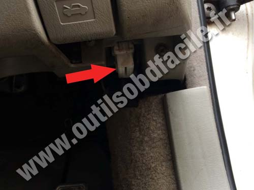 Obd2 Connector Location In Toyota Mark Ii Rhd 1996