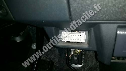 Toyota Wish Pedals Connector Obd Elm
