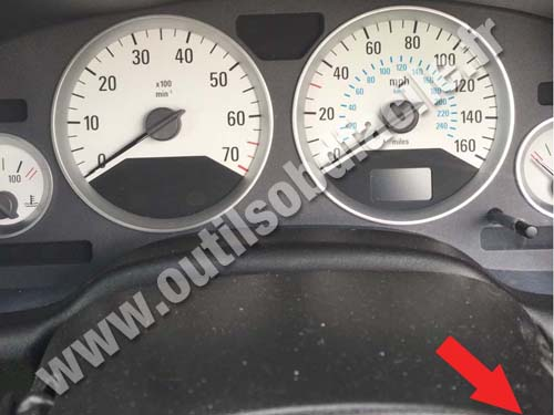 Vauxhall Astra G - Instrument panel
