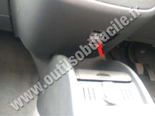 Vauxhall Corsa C - Central console