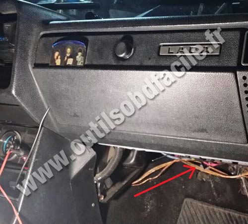 VAZ 2107 dashboard