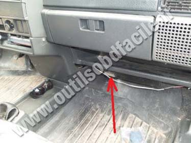 Vaz 2109 storage compartment