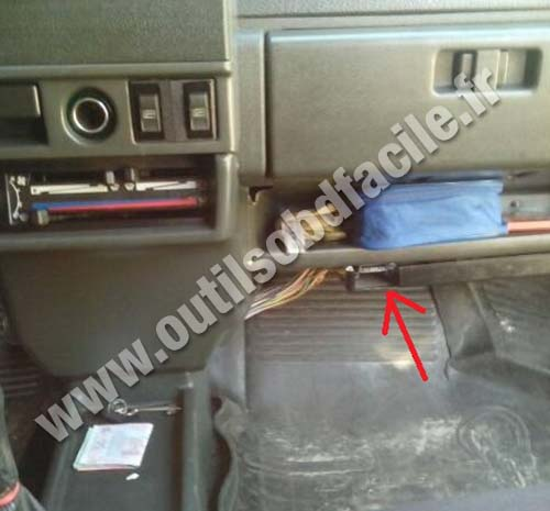 Vaz 21099 passenger glove compartment