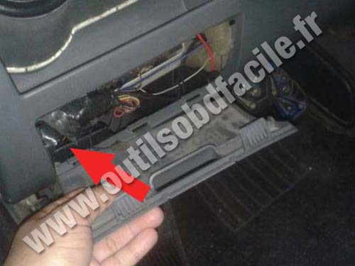 Volkswagen Gol G4 - Fuse compartment