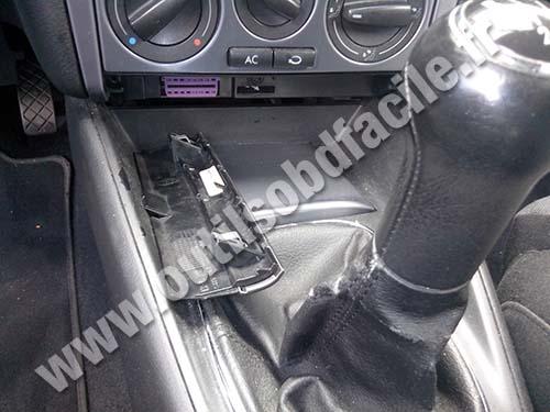 Obd2 Connector Location In Volkswagen Golf Iv 1997 2004