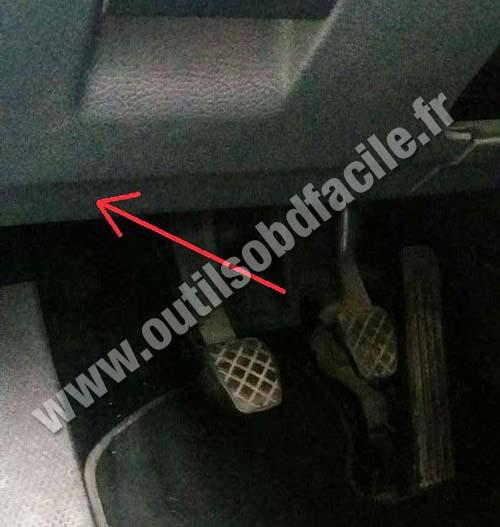Volkswagen Golf  V pedals