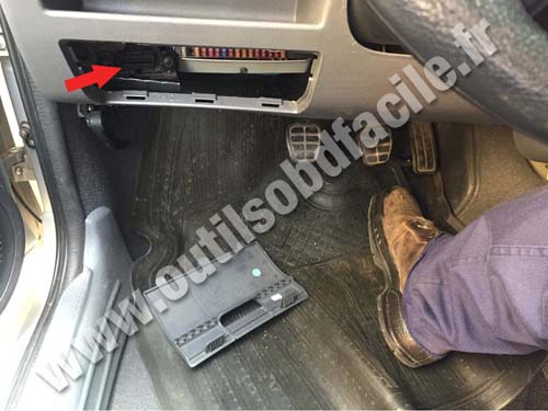 Volkswagen Pointer - Fuse compartment