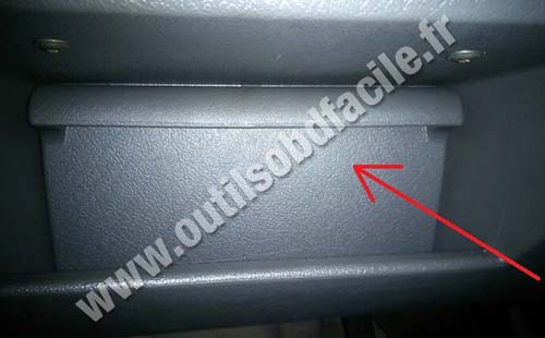 Obd connector location in volkswagen polo
