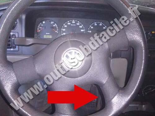 Volkswagen Santana Steering wheel
