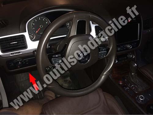 Volkswagen Touareg - Steering wheel