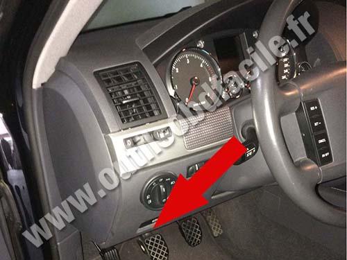 Volkswagen Touareg Dashboard
