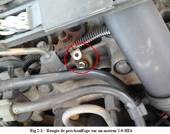 Repair your OBD2 DTC P0380 glow plug with our tuto - Outils OBD Facile